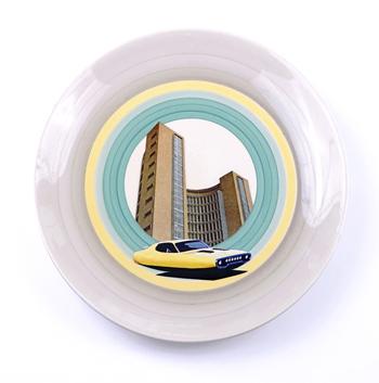 Plate / ceramic