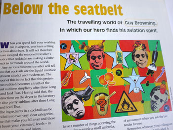 'Below The Seatbelt' by Guy Browning